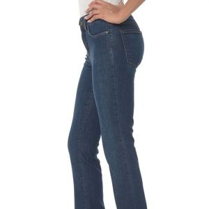 NYDJ Blue Medium Wash Style Straight Leg Jeans